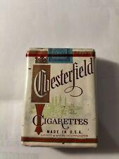 Paquet De Cigarettes Ancien Chesterfield Pour Collection