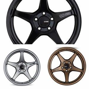 ENKEI TS-5 18x8 TUNING SERIES Wheel Wheels 5x100/112/114.3 ET40/45 GR BK ZP