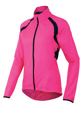 Pearl Izumi 2016 Women's Elite Barrier Bicycle Cycling Jacket Screaming Pink XS