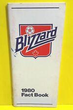 1980 TORONTO BLIZZARD MEDIA GUIDE FACT BOOK YEARBOOK PRESS BOOK NASL SOCCER