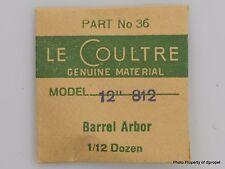Jaeger LeCoultre Barrel Arbor Cal. 812  Part #36