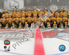 2010 Boston NHL Winter Classic Boston Bruins Team 8 X 10 Photo