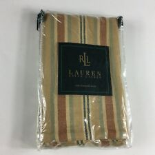 1 NEW Ralph Lauren COCO PALM Multi Stripe Standard Sham Rare Retail $110+