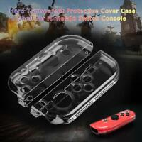 Dustproof Hard Clear Case Cover Protective Shell for Nintendo Switch Console