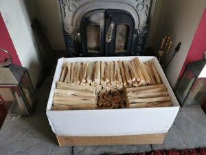 BOX 20 KG APPROX  QUALITY DRY KINDLING FIREWOOD LOGS WOODBURNERS,FAST & FREE P&P