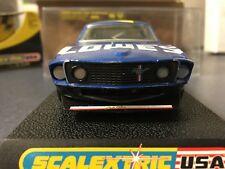 1/32 slot car Scalextric Custom 1969 Ford Mustang #48 Lowes NASCAR style Jimmy J