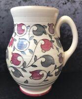"Art Deco Crown Ducal ""Pink Oyster"" (6907) Jug Vase - Charlotte Rhead"