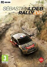 Sebastien Loeb Rally EVO (PC-DVD) BRAND NEW SEALED RACING