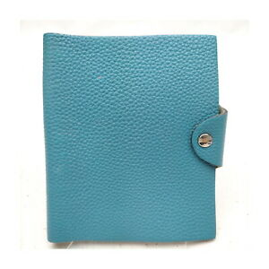 Hermes Diary Cover  Light Blue Leather 2406967