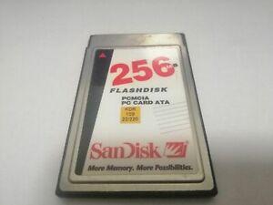 SANDISK 256MB FLASHDISK PCMCIA PC CARD ATA