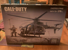 New Discontinued CHOPPER STRIKE Mega Bloks CALL OF DUTY 06816 Helicopter Soldier