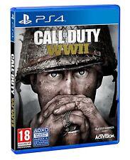 Call Of Duty WWII PS4 PAL ESPAÑA NUEVO CASTELLANO ESPAÑOL PRECINTADO ww2