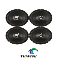 "4 X Hifonics HFX12D4 HF Series 12"" 800 Watt DVC 4 Ohm Car Subwoofers PAIR NEW!"