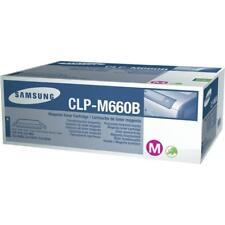 Original Samsung Toner Clp-m660b Magenta Rouge CLP 606 610 660 Clx 6200 B