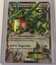 Pokemon Rayquaza Ex Roaring Skies 75/108 Half Art Holo Mint