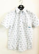 Size S Mens Rip Curl T-BONED SHIRT Cotton Urban Fit Shirts New - CSHFAJ White