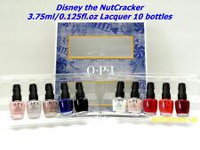 OPI Nail Polish DISNEY the NUTCRACKER 3.75ml/0.125fl.oz Mini Lacquer 10 Bottles