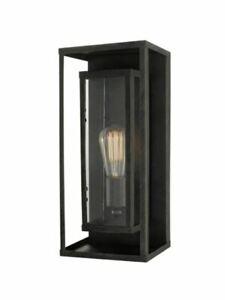 G E Montague 1-Light Bronze Outdoor Wall Lantern Sconce
