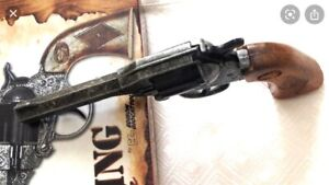 vintage style child's toy cap Pistol mint in Packaging