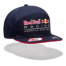 2017 OFFICIAL F1 Red Bull Racing Daniel RICCIARDO Flat Brim Cap Hat MENS – NEW