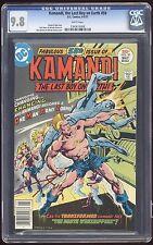 KAMANDI #50 ~ CGC 9.8 GLOSSY WHITE PAGES ~ DC COMICS ~ MAY 1977 ~ OMAC CAMEO!