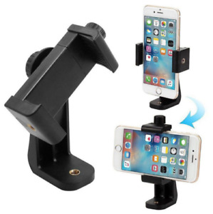 Universal Cell Phone Tripod Adapter Holder Smartphone Mount For Samsung iPhone#.