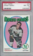 1971 Topps NHL hockey card #79 Danny Grant, Minnesota North Stars PSA 8 NMMT
