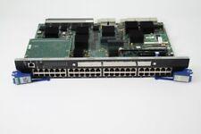 Enterasys Networks Matrix Series 48 Port Switch Modul 7H4382-49 ohne Abdeckung