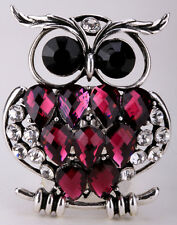 Owl Stretch Ring Cute Animal Bling Scarf Jewelry Gifts 1 Dropship