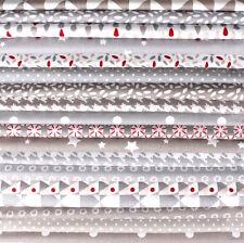 chic neutres - Gris Beige - Big Bundle coton tissus floral Vestige Chutes de