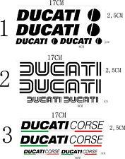 KIT 4 ADESIVI DUCATI CORSE DUCATI OLD stickers MONSTER SERBATOIO CASCO cod53