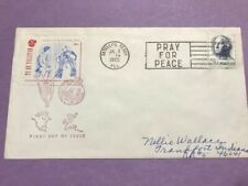 Space Covers not FDC #1213 TV by Telstar Kennedy Meets Pope Paul   L836