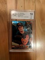 2011 Bowman's Best Prospects #BBP5 Manny Machado BCCG RATED 10 ROOKIE CARD