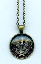 Halskette Necklace Great Seal Pendant US Präsidentenwappen US