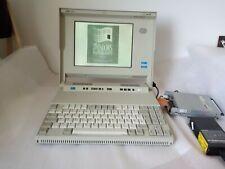 Vintage laptop IBM PS/2 L40SX 386 SX Windows 3.1.1 German