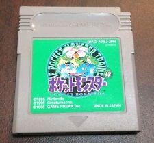 Pokemon Green Japanese Pocket Monsters Gameboy **USA SELLER**Battery Saves