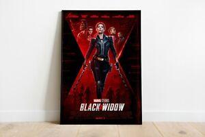 Black Widow 2021 Movie Poster Marvel Wall Art Maxi Prints New Films - 1894