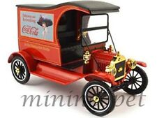 MOTORCITY CLASSICS 449804 1917 FORD MODEL T CARGO VAN COCA COLA COKE 1/18 RED