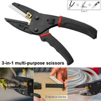 3 In 1 Multifunction Cutting Tools Pliers Wire Cut Garden Pruning Shears Outdoor