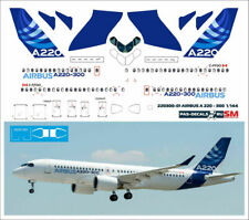 1/144 PAS-DECALS EASTERN EXPRESS AIRBUS A220-300 DEMO COLOR