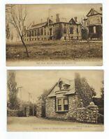 LOT 2 Ashland Pennsylvania Miner's Hospital UNUSED Divided Postcards by Loeper