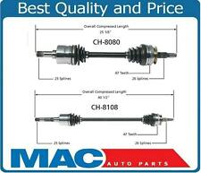 Town & Country Grand Voyager Carvan Two New CV Shaft Axle Complete Assembly