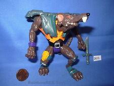 "Earthworm Jim HENCHRAT with Sword 1995 Playmates 5"" Action Figure"