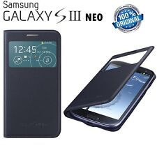 Original Samsung S VIEW FLIP CASE Galaxy S3 NEO GT I9301 I L mobile phone cover