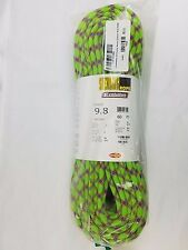 Sterling Rope Evolution Velocity Dry-Coat Rope in Neon Green 9.8mmX60m