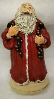 "JUNE McKENNA 1993 ""Bells of Christmas"" Flat Back SANTA CLAUS #1313/10,000"