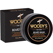 Woody's Beard Balm 2 oz / 56.7 g coconut oil, panthenol and natural beeswax