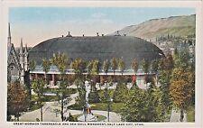 Great Mormon Tabernacle & Seagull Monument, Temple Square, Salt Lake City, Utah
