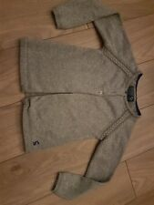 Girl's Joules Silver Sparkly Long Sleeved Cardigan with Buttons Age 5-6 Years