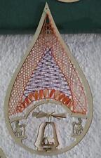 889504/KPS Klöppeln Motivtropfen Klöpplerin Pyramide Klöppelbrief Wärmespiel